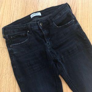 Zara high waist skinny jeans size 28